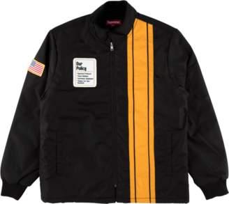 Supreme Pit Crew Jacket - 'FW 17' - Black