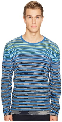 Missoni - Line Sfumata Long Sleeve Sweater Men's Sweater $565 thestylecure.com