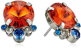 Sorrelli Crush Regal Rounds Stud Earrings