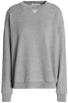 Alexander Wang Mélange Cotton-Blend Terry Sweatshirt