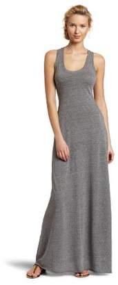Alternative Women's Racer Back Maxi Dress, Eco Grey