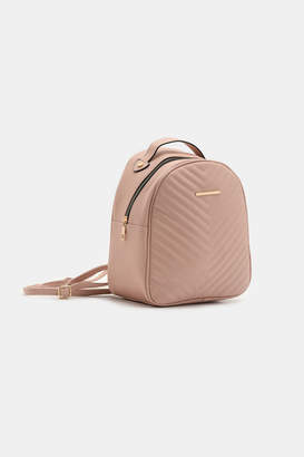Ardene Quilted Chevron Backpack