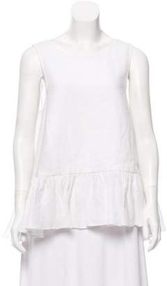 WHIT Oversize Ruffled Top w/ Tags