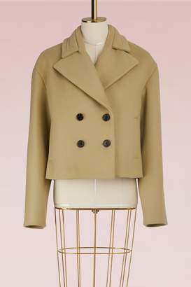 Carven Wool Tulip Coat