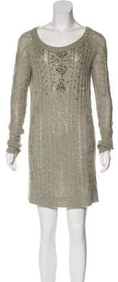 Brunello Cucinelli Cashmere & Silk Knit Dress