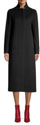 Cinzia Rocca Icons Long Wool-Cashmere Coat