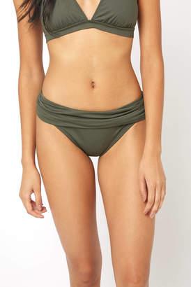 LaBlanca La Blanca Hunter Shirred Side Hipster Bikini Bottom