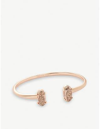 Kendra Scott Edie 14-carat rose gold plated brass cuff bracelet