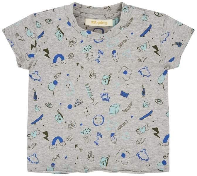 Soft Gallery Fun Print Ashton T-Shirt