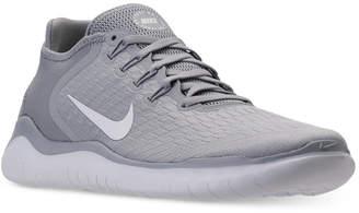 10cd37835f250 Nike Men Free Run 2018 Running Sneakers from Finish Line