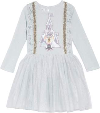 Pippa & Julie x Disney(R) Frozen Applique Tutu Dress
