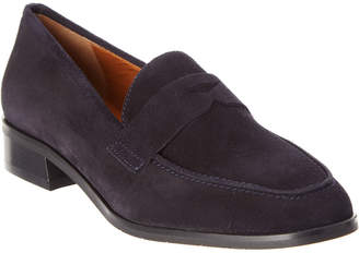 Aquatalia Sharon Waterproof Suede Loafer