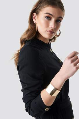 Na Kd Accessories Squared Bangle Gold