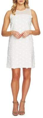 CeCe Summer Fiesta 3D Flower Shift Dress