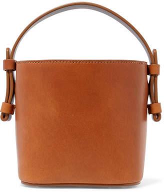 Nico Giani - Adenia Mini Leather Bucket Bag - Tan