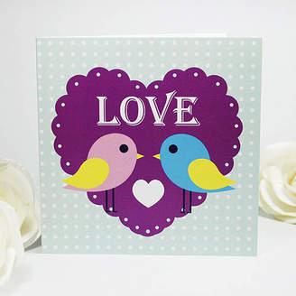Munchkin Creative Cutie Love Birds Greeting Card