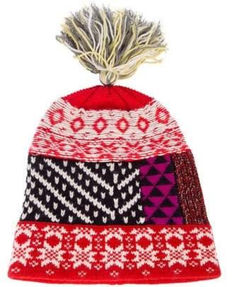 Burberry Pom-Pom Knit Beanie