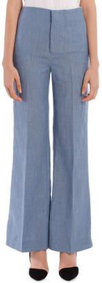 Joseph Kirk Linen Silk Tailoring Trousers