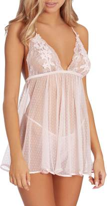 Jonquil In Bloom by Lace Babydoll & Thong