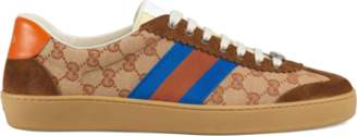 Gucci G74 nylon sneaker with Web