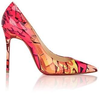2e421077a0c5 Christian Louboutin Women s Decollete 554 Patent Leather Pumps - Pink