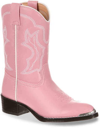 Durango Chrome Western Toddler Cowboy Boot - Girl's
