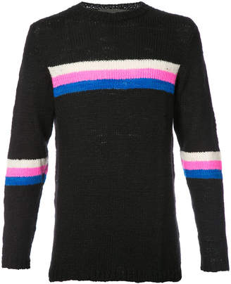 The Elder Statesman cashmere intarsia knit jumper