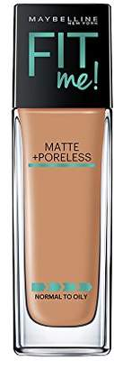 Maybelline Makeup Fit Me Matte + Poreless Liquid Foundation Makeup