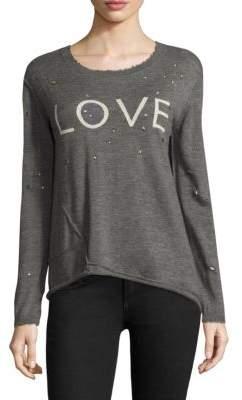 Generation Love Abigail Love Cashmere Sweater