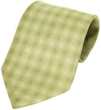Hermes Vintage Green Silk Ties