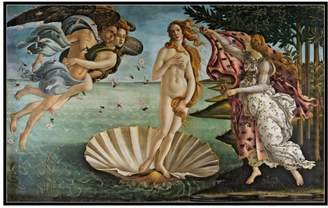 Sandro Museums. Co The Birth of Venus by Botticelli (Framed)