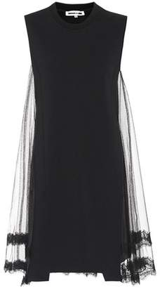McQ Embellished cotton dress