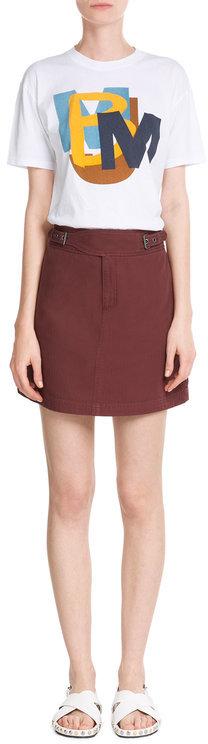 Marc by Marc Jacobs Cotton Mini Skirt