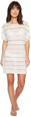 Echo Bay Breeze T-Shirt Tunic Cover-Up Women's Swimwear