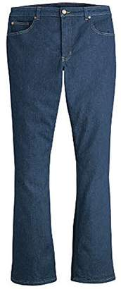 Dickies Women's Plus Size Perfect Shape Denim Jean-Bootcut Stretch
