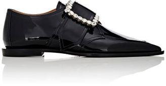 Maison Margiela Women's Oversized-Buckle Oxfords-BLACK $1,395 thestylecure.com