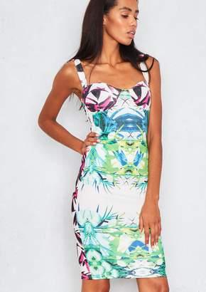 99ecdbec87769 Missy Empire Missyempire Fliss Tropical Floral Print Bodycon Dress