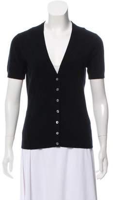 Michael Kors Short Sleeve Knit Cardigan