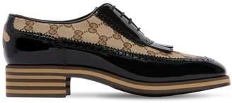 Gucci Thomson Gg Supreme & Leather Shoes