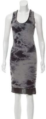 Enza Costa Patterned Sleeveless Dress