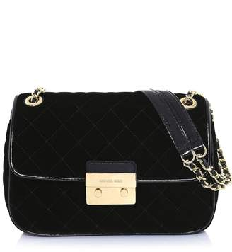 MICHAEL Michael Kors Women's Quilted Shoulder Bag One Size Black