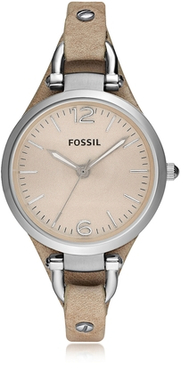 Fossil Georgia Riley Stainless Steel Women's Watch $99 thestylecure.com