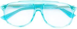 Gucci oversized acetate glasses