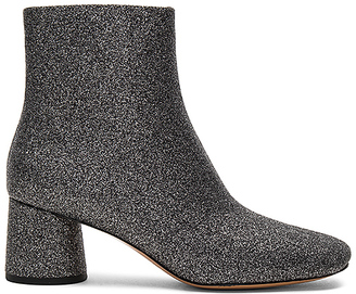 Marc Jacobs Valentine Ankle Boot in Metallic Silver $395 thestylecure.com