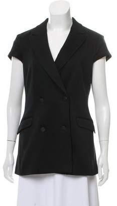 Rag & Bone Double-Breasted Short Sleeve Blazer