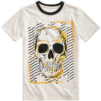 Sean John Big Boys Take Risks Skull Graphic T-Shirt