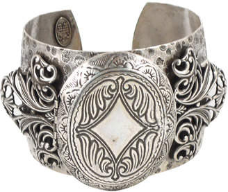 Miss Ellie Antique Locket Cuff Bracelet