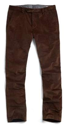 Todd Snyder Sutton Corduroy Trouser in Brown