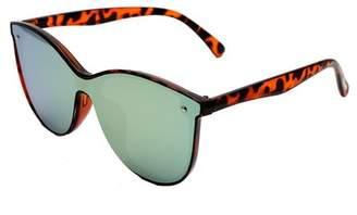 cae4a5deecb Steve Madden 66MM Tortoise u002FPink Square Sunglasses