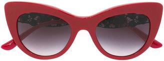 Dolce & Gabbana Eyewear lace bouquet sunglasses